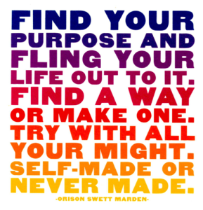 finding life purpose