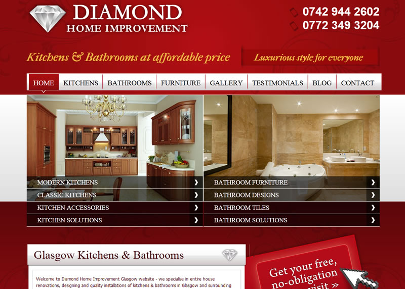 home design website. Setting Up A Home Improvement Website Web Design Tips For All Types of Small Business Beginners  Aly