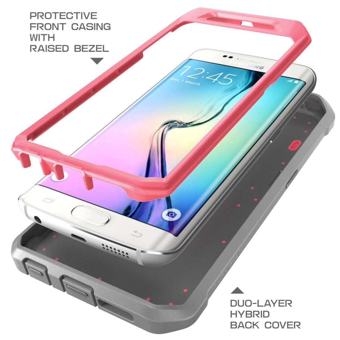 top samsung galaxy s6 edge edge plus cases alychidesignssupcase full body rugged \u2013 unicorn beetle pro series · galaxy3 second on the list as the best case for galaxy s6 edge