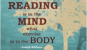 reading is exercise for the mind