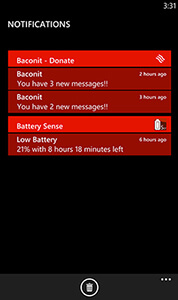 Missing Features Windows Phone 8