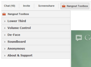 Improve Your Google+ Hangouts With The Hangout Toolbox