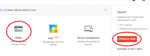 add secondary domain to Google Apps Standard