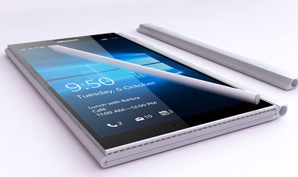 microsoft windows surface phone 10