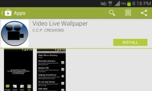 video to live wallpaper
