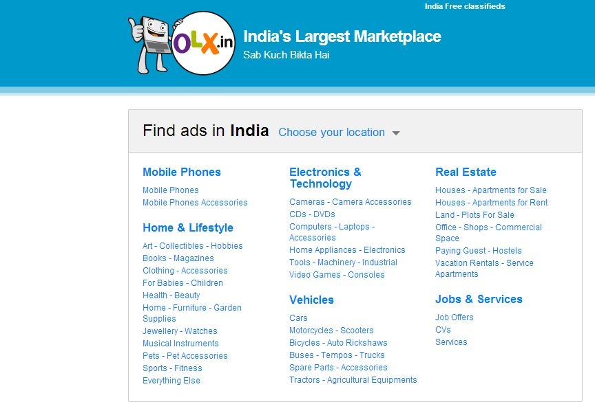 olx buy and sell