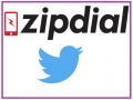 zipdial twitter indian startup