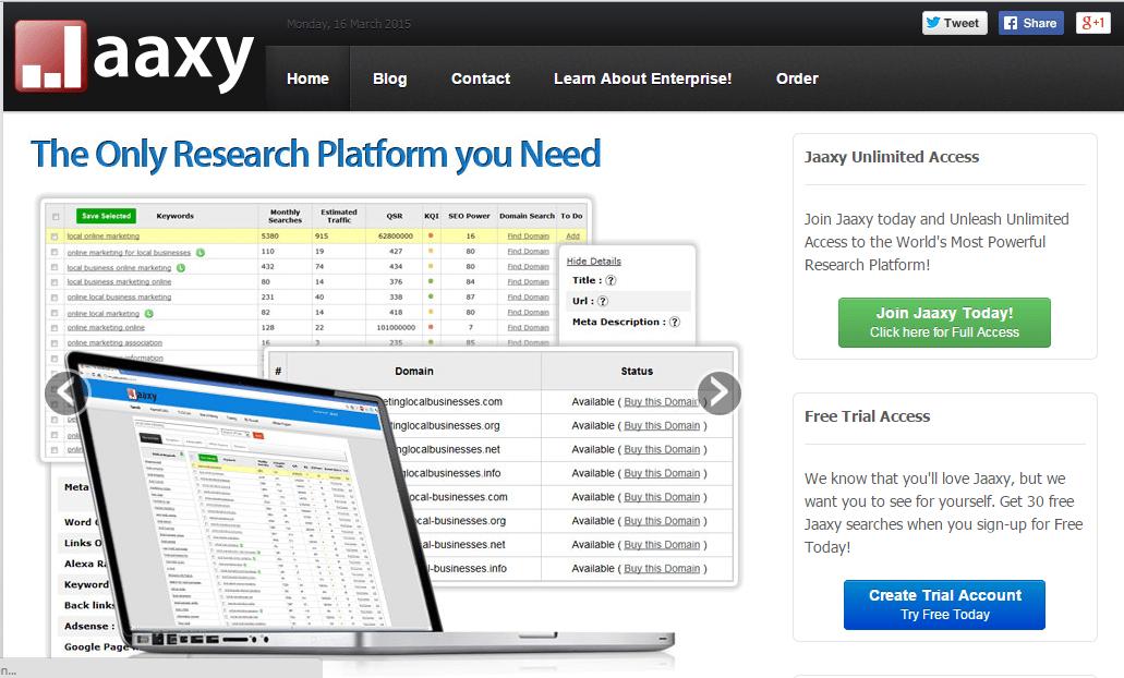 jaxxy keyword tool review