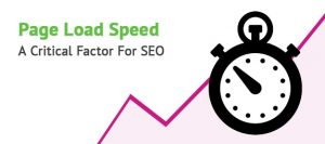 speed of the website