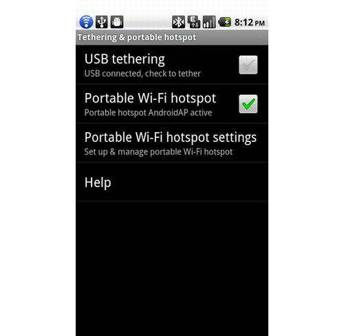 Setup Wireless Home Network Android