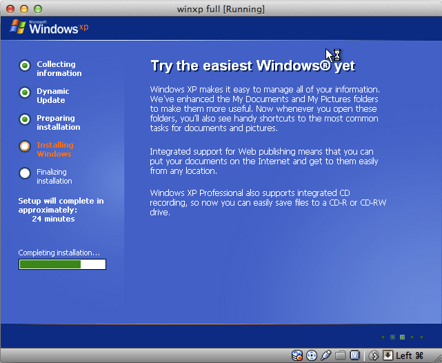 install windows xp to usb drive